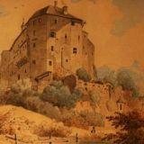 Gemälde_Burg_Golling